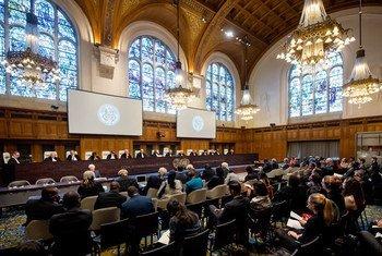 位于海牙的国际法院。