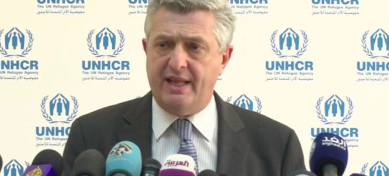 Le Haut-Commissaire des Nations Unies pour les réfugiés, Filippo Grandi. Photo HCR (archives)