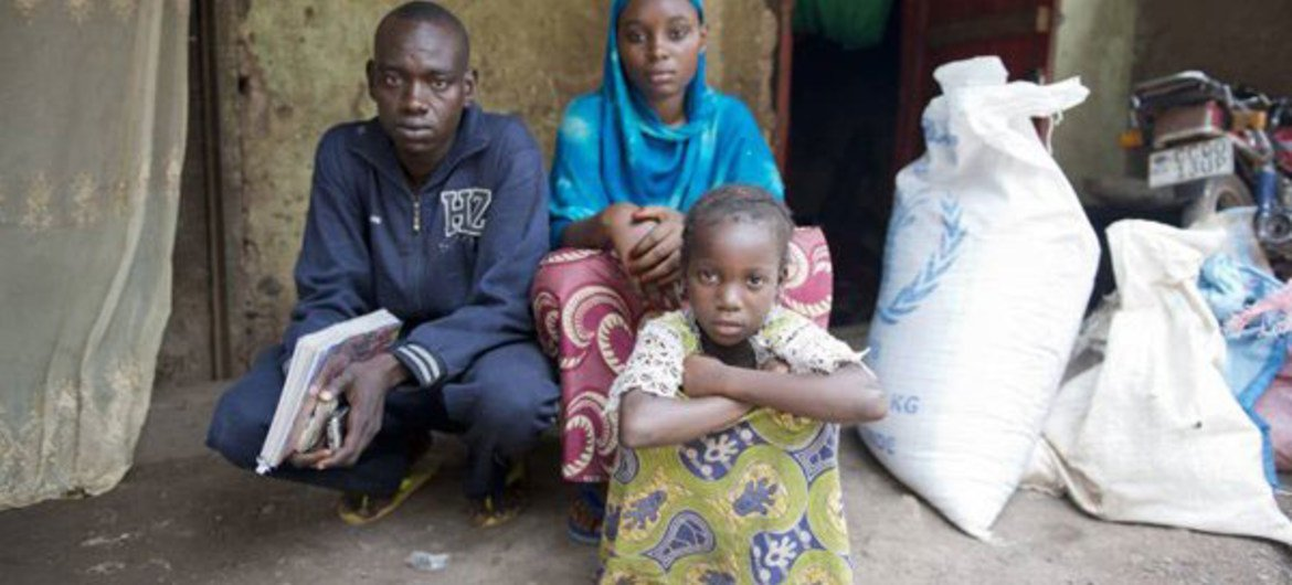 Severe food insecurity affects eight per cent of the population of Ouham-Pendé, Central African Republic, while another 48 per cent are just moderately food secure.