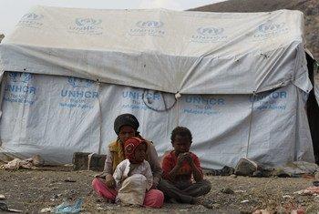 Дети из числа перемещенных лиц в Йемене. Фото УВКБ