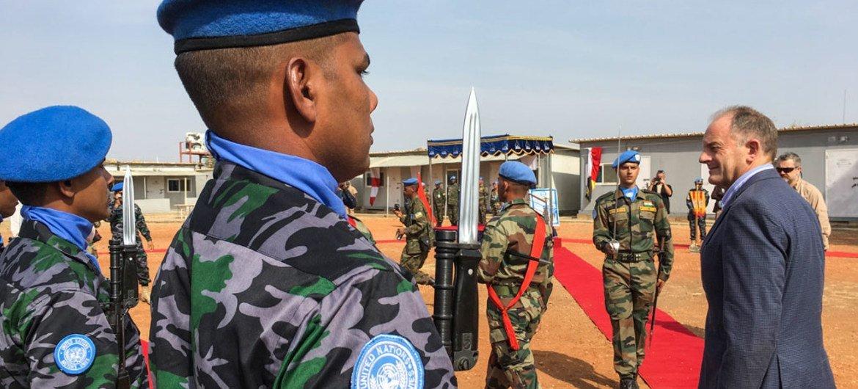 南苏丹特派团图片/Isaac Billy