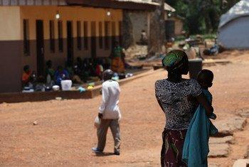 Scène de rue à Bambari, dans la préfecture de la Ouaka, en République centrafricaine. (Archive)