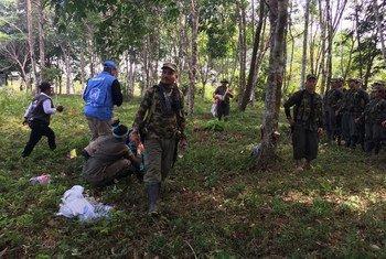 الصورة: بعثة الأمم المتحدة في كولومبيا