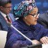 Amina Mohammed, vicesecretaria general de la ONU. Foto de archivo: ONU/Eskinder Debebe