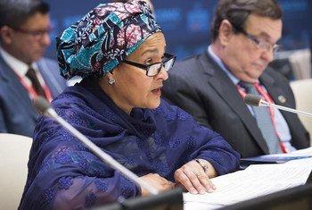 La Vice-Secrétaire général Amina J. Mohammed. Photo ONU/Eskinder Debebe