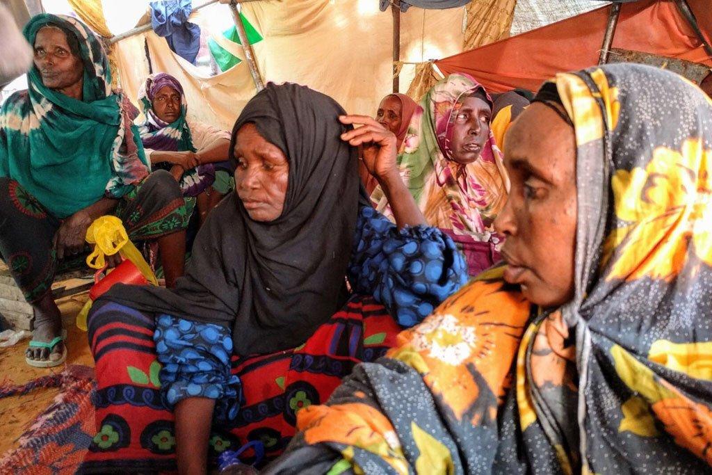 Kundi la wanawake mjini Mogadishu Somalia.