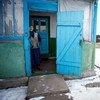 أرشيف:المسنون تأثروا بشدة  جراء الصراع في شرق أوكرانيا. المصدر: المنظمة الدولية للهجرة / الأمم المتحدة / فولوديمير شوفاييف