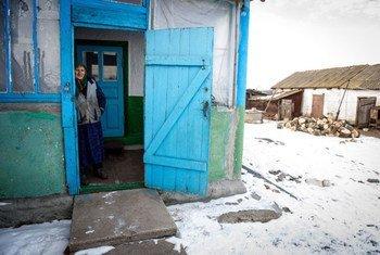 Пожилые  люди в наибольшей степени страдают  от конфликта  на востоке  Украины.  ФОТО МОМ
