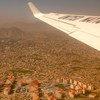 阿富汗西部赫拉特的鸟瞰图。