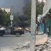 Une attaque à la bombe à Mogadiscio, la capitale de la Somalie. (archive)