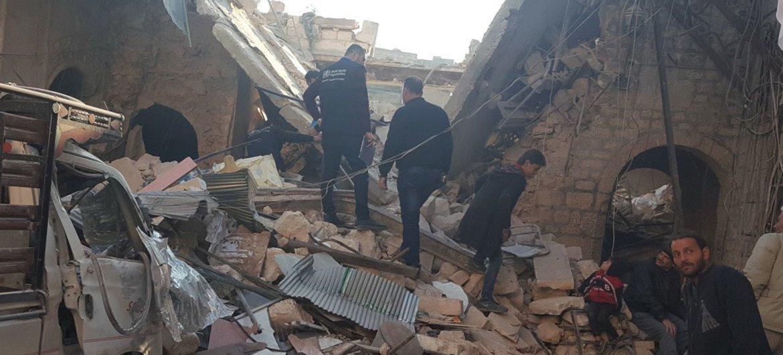 Последние месяцы стали самыми тяжелыми для сирийцев Фото ВОЗ