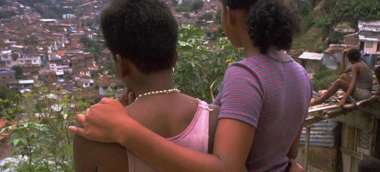 Jóvenes víctimas de explotación sexual en Colombia.