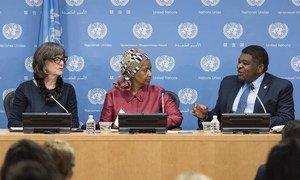 各国议会联盟和联合国妇女署发布《2017世界妇女参政地图》。联合国图片/Mark Garten