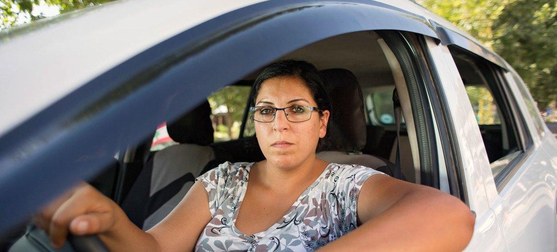 Водитель такси в Ливане