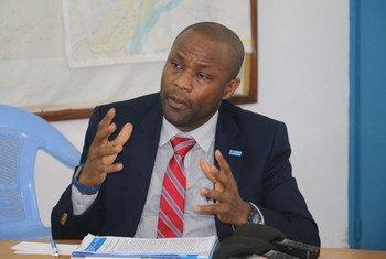 Le Coordonnateur humanitaire par intérim en République centrafricaine (RCA), Michel Yao.