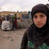 曾经上6年级的12岁的阿叶什从叙利亚伊德利卜省逃到土耳其后就一直失学。