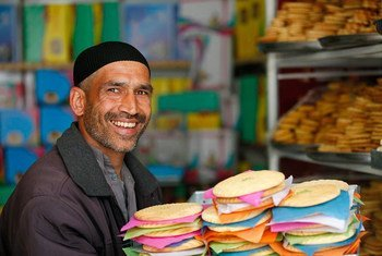 """In Afghanistan, bakeries prepare a special type of cookie, called """"Kulcha-e Nowrozi,"""" which is only baked for Nowruz. Other special dishes include """"Haft Mewa,"""" a fruit salad made from seven different dried fruits, and """"Samanak"""" made by women in a special ceremony that includes singing."""
