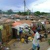 Des personnes déplacées vivant dans des conditions précaires après avoir fui les violences dans la province du Tanganyika, en République démocratique du Congo (archive).