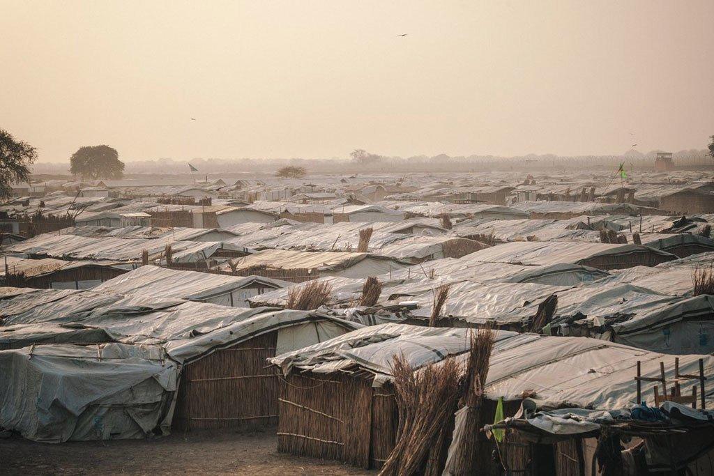 Des déplacés à Bentiu, au Soudan du Sud (archives).
