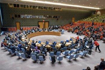 Reunión del Consejo de Seguridad. Foto de archivo: ONU/Manuel Elías