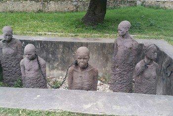 Kumbukumbu ya biashara ya utumwa Stone Town, Zanzibar Tanzania