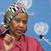 Phumzile Mlambo-Ngcuka pediu a todos que ajudem com os esforços na área de Mulheres, Paz e Segurança e Resposta à crise humanitária