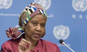 Phumzile Mlambo-Ngcuka, Executive Director of UN-Women. (file photo)