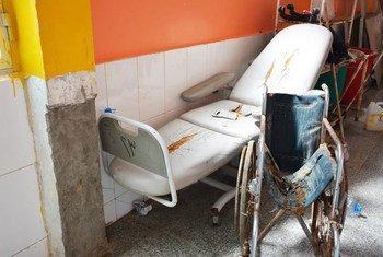 في اليمن، تعمل 45% فقط من المرافق الصحية بكامل طاقتها.