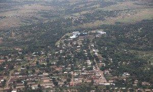 Vue aérienne de la ville de Kananga dans la province du Kasaï-Central de la RDC (archives). Photo MONUSCO/Myriam Asmani