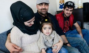 The Mahmut family from Syria began a new life in Ottawa in 2016, under Canada's humanitarian programme to resettle 25,000 Syrian refugees.