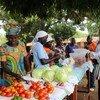 Un marché au Soudan du Sud.