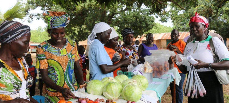 高昂的食品价格和恶性通货膨胀导致南苏丹的饥饿情况加剧。