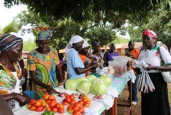 Un marché au Soudan du Sud. Photo PAM Soudan du Sud