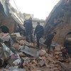 叙利亚遭受冲突破坏的一个场景。