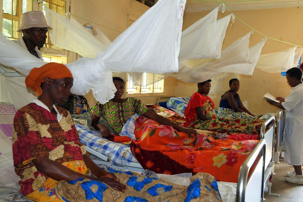 A UNFPA-supported health centre 400 kilometers southwest of Uganda's capital Kampala, includes a ward where women in their final stages of pregnancy can remain comfortably and avoid arduous travel once labour begins.