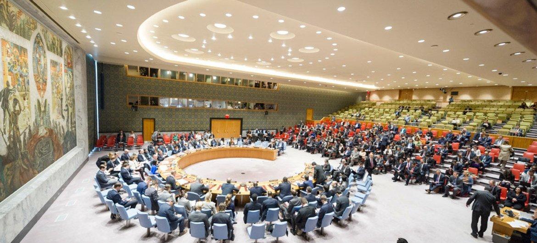 Una reunión del Consejo de Seguridad de la ONU sobre Siria. Foto archivo: ONU/Rick Bajornas