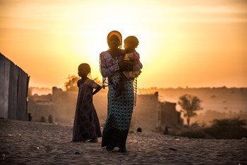Des jeunes filles dans le village de Mao au Tchad. Photo UNICEF/Tremeau