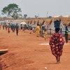 Campamento de desplazados en Wau, Sudán del Sur.