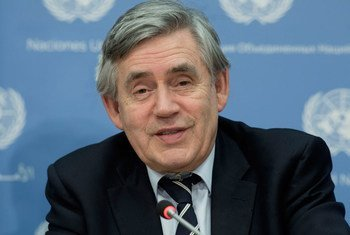 Gordon Brown, United Nations Special Envoy for Global Education.