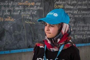 الشابة السورية اللاجئة مزون المليحان.