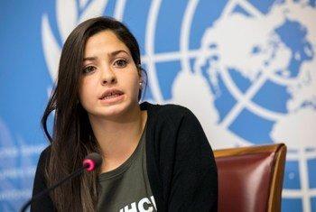 难民署历来最年轻的亲善大使尤斯拉·马尔蒂尼(Yusra Mardini),她是叙利亚难民,也是 2016 年里约奥运和2020东京奥运难民代表队的成员。
