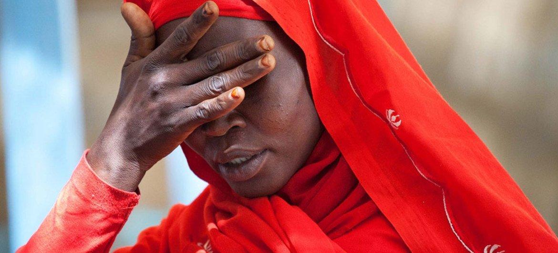 Mama huyu kutoka kambi ya Kassab Kutub Darfur ya kaskazini ahuzunishwa  na visa vya ubakaji katika eneo hilo.
