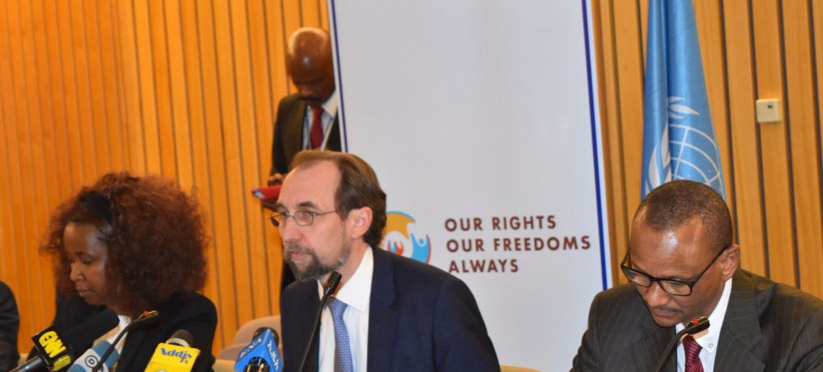 In Ethiopia, UN rights chief urges authorities for greater