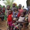 Niños desplazados por la violencia en la República Centroafricana. Foto: UNICEF/ Logan