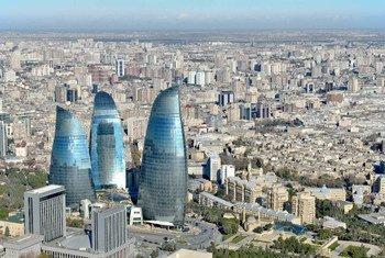 阿塞拜疆首都巴库。