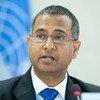 Ahmed Shaheed, le Rapporteur spécial de l'ONU sur la liberté de religion ou de croyance. Photo ONU/Jean-Marc Ferré