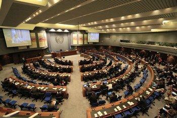 亚太经社委员会在举行会议。(资料图片)