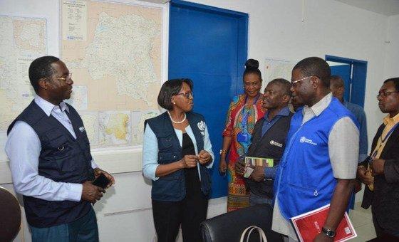 Diretora regional da OMS para África, Matshidiso Moeti.