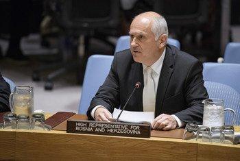 Le Haut-Représentant pour la Bosnie-Herzégovine, Valentin Inzko, informe le Conseil de sécurité sur la situation dans ce pays.