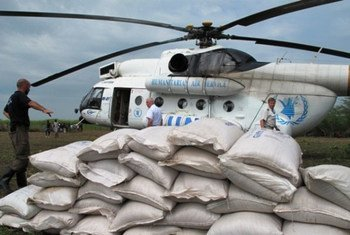 WFP dispatching food by air and road to thousands of people in need of food assistance in conflict-torn Central African Republic (CAR).